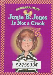 Cover of: Junie B. Jones is not a crook