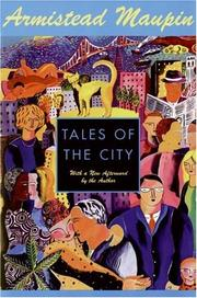 Cover of: Tales of the City (Tales of the City Series, V. 1)