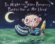 Cover of: The night scary beasties popped out of my head
