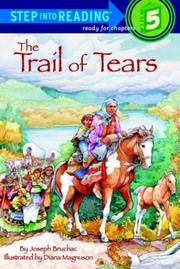 Cover of: The Trail of Tears | Joseph Bruchac