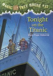Cover of: Tonight on the Titanic