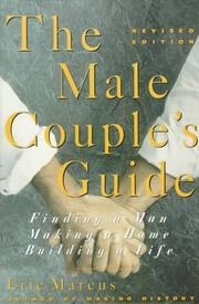 Cover of: The male couple's guide