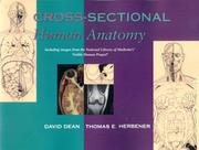 Cover of: Cross-sectional human anatomy