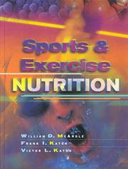 Sports and Exercise Nutrition by William D. McArdle