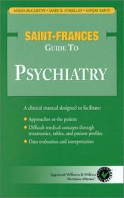 Cover of: Saint-Frances Guide to Psychiatry