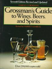 Cover of: Guide to wines, beers, and spirits