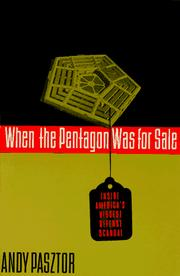 Cover of: When the Pentagon was for sale