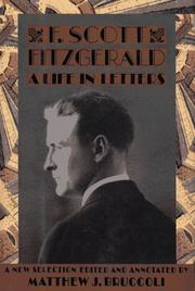Cover of: A life in letters | F. Scott Fitzgerald
