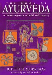 Cover of: The book of ayurveda
