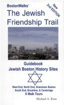 BostonWalks the Jewish friendship trail guidebook