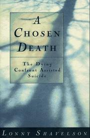 Cover of: A chosen death