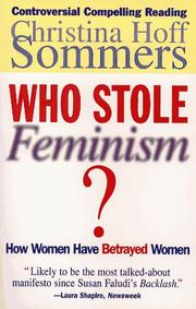 Cover of: Who Stole Feminism?