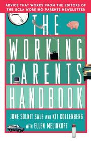 Cover of: The working parents handbook