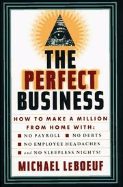 Cover of: The perfect business
