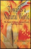 Cover of: Towards a natural world