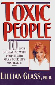 Cover of: Toxic people