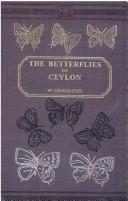 Cover of: butterflies of Ceylon | W. Ormiston