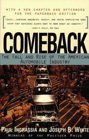 Cover of: Comeback