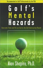 Cover of: Golf's mental hazards