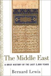 Cover of: The Middle East