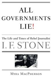 Cover of: All Governments Lie