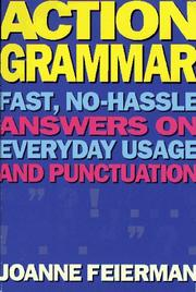 Cover of: Action Grammar