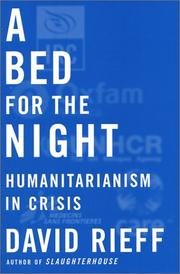 Cover of: A Bed for the Night | David Rieff
