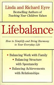 Cover of: Lifebalance