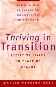 Cover of: Thriving in transition