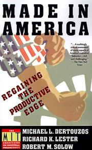 Cover of: Made in America