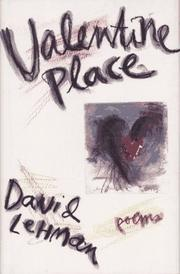Cover of: Valentine place
