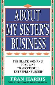Cover of: About my sister's business