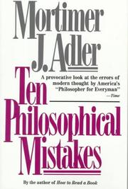 Cover of: Ten philosophical mistakes