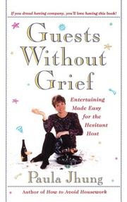 Cover of: Guests without grief | Paula Jhung