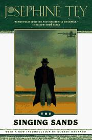 Cover of: The Singing Sands (Inspector Alan Grant #6)