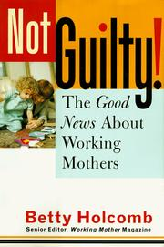 Cover of: Not Guilty!