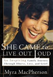Cover of: She came to live out loud