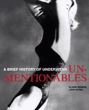 Cover of: Unmentionables