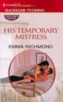 Cover of: His temporary mistress