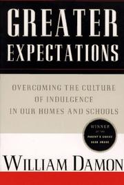 Cover of: Greater expectations | William Damon