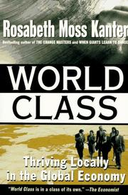 Cover of: World Class: thriving locally in the global economy