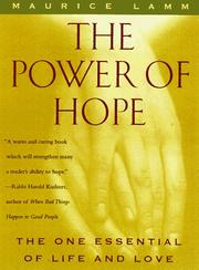 Cover of: The Power of Hope: the one essential of life and love