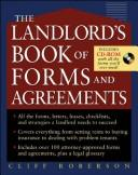 Cover of: The landlord's book of forms and agreements