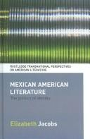 Cover of: Mexican American literature | Elizabeth Jacobs