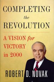 Cover of: Completing the Revolution