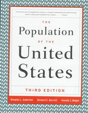 Cover of: The population of the United States