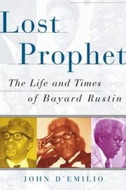 Cover of: Lost prophet
