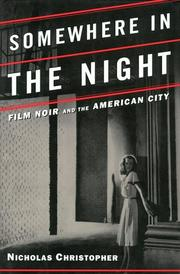 Cover of: Somewhere in the night