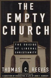 Cover of: The empty church | Thomas C. Reeves