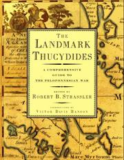 Cover of: The landmark Thucydides | Thucydides